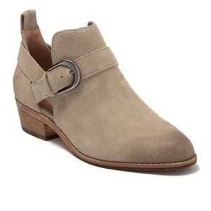 Frye | Mia Cut Out Bootie | Taupe | 6